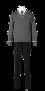 城北高校男子合い制服(セーター着用)