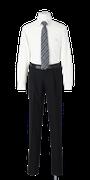 城北高校男子合い制服(長袖カッターシャツ着用)