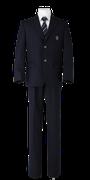 川島高校男子春制服