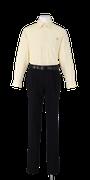 富岡東中学校合い制服(長袖カッターシャツ着用)