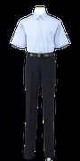 城東高校男子夏制服(半袖カッターシャツ着用)