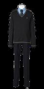 城東高校男子合い制服(セーター着用)