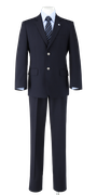 徳島科学技術高校男子春制服