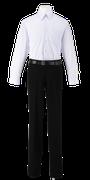 名西高校男子合い制服(長袖カッターシャツ着用)