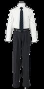 吉野川高校男子合い制服(長袖カッターシャツ着用)