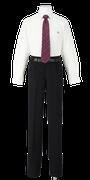 鳴門渦潮高校男子合い制服(長袖カッターシャツ着用)