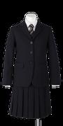 富岡東高校女子春制服