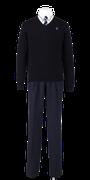 城西高校男子合い制服(セーター着用)