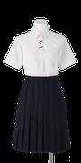 川島中学校夏制服