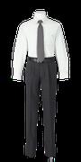 城南高校男子合い制服(長袖カッターシャツ着用)