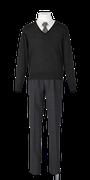城南高校男子合い制服(セーター着用)