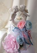 #ウェディングケーキ#プレ花嫁#手作りウェディング#結婚式#名古屋プリザーブドフラワー#こだわりウェディング 参考価格¥20,000(税別)