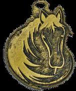 Medalla Metalica - Caballo con Crima - Art-Nº2586