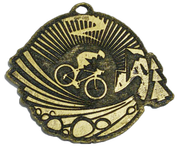 Medalla Metal - Ciclismo Pista 60mm - Art-Nº 2579