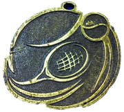 Medalla Metal - Tenis con Pelota 55mm - Art-Nº 2580