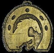 Medalla Metal - Herradura Caballo 60mm - Art-Nº 2583