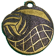 Medalla Metal - Voley Red 50mm - Art-Nº 2593