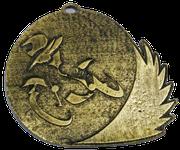 Medalla Metalica - Motociclismo en carrera 80mm - Art-Nº2584