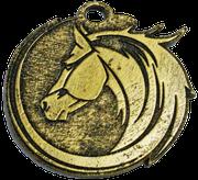 Medalla Metálica - Caballo Ovalado 65mm - Art-Nº2584