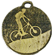 Medalla Metalica - Ciclismo 50mm - Art-Nº2594