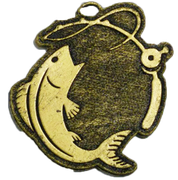 Medalla Metalica - Pesca 55mm - Art-Nº2578