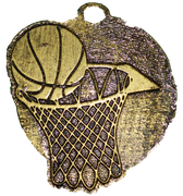 Medalla Metal - Basquet 60mm - Art-Nº 2581