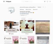 Instagrampost Bekanntmachung für Physiotherapie Lydia Walter