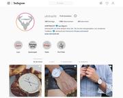 Instagram Business Account für Uhrtracht