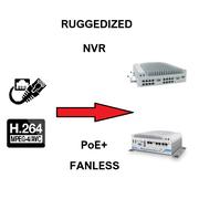 Enregistreurs video IP durcis
