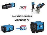 caméras microscopie