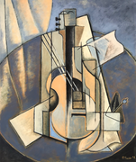 MUSICAL INSTRUMENT 2 - Oil on canvas - 65x54cm - 2018