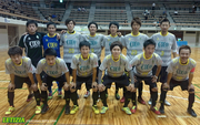 中国フットサルリーグ 第3節 vs Junjies futsal family 宇部