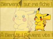 Fiche n°17. Pikachu.