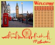 Fiche n°8. I ♥ London.