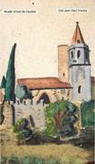 Gouache (?) Jean Tricoire 1930