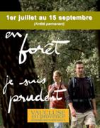Accès aux Massifs Forestiers Vaucluse