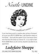 """Ladyfaire Shoppe"", ca. 1945"