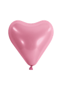 Herzballon-Rosa
