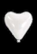 Herzballon-Weiß
