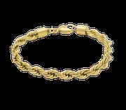 Edelstahl Schmuck Armband kordel Kordelarmband kordelkette gold stahl Armschmuck online shop kaufen matt poliert Spange Reif Arm großandel einzelhandel plättchen platten oval ovale