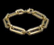 Edelstahl Schmuck Armband glieder ankerkette ankerarband gliederarmband gold stahl Armschmuck online shop kaufen matt poliert Spange Reif Arm großandel einzelhandel plättchen platten oval ovale
