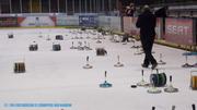 Training der Eishoppers im Colonel-Knight-Stadion, Bad Nauheim