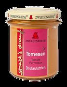 Bio Brotaufstrich - Tomate Parmesan - als Aufstrich, für eigene Sandwichkreationen, als Gewürz für Dressings, Dips und Saucen geeignet