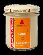 Vegetarischer Bio Brotaufstrich - Senf, Dill - als Aufstrich, für eigene Sandwichkreationen, als Gewürz für Dressings, Dips und Saucen geeignet