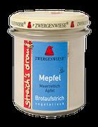Vegetarischer Bio Brotaufstrich Meerrettich, Apfel - als Aufstrich, für eigene Sandwichkreationen, als Gewürz für Dressings, Dips und Saucen geeignet