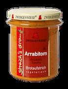 Vegetarischer Bio Brotaufstrich - Tomate, Cayenne - als Aufstrich, für eigene Sandwichkreationen, als Gewürz für Dressings, Dips und Saucen geeignet