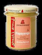 Vegetarischer Bio Brotaufstrich - Papaya, Mango - als Aufstrich, für eigene Sandwichkreationen, als Gewürz für Dressings, Dips und Saucen geeignet