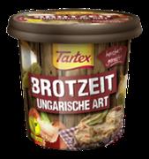 Die Kombination aus Paprika und Gewürzgurken macht die Tartex BROTZEIT Ungarische Art besonders schmackhaft und herrlich würzig.