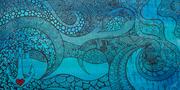 Underwater Love 60cm x 120cm