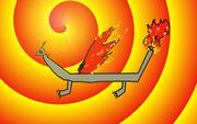 Un dragon de feu par Fabio (2014)